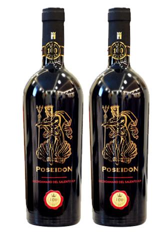 Rượu vang Ý Poseidon Negroamaro del Salento