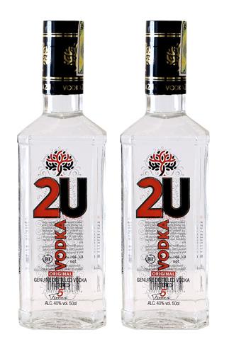 Rượu Vodka 2U Original giá rẻ nhất thị trường