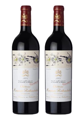 Rượu vang Pháp Chateau Mouton Rothschild 2005