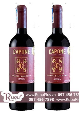 Rượu vang Capone Gran Reserva Cabernet Sauvignon