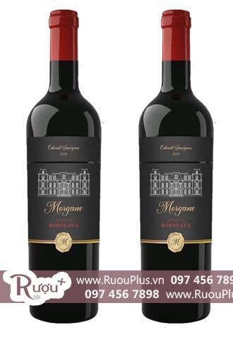 Rượu vang Morgane 13,5% Cabernet Sauvignon Bordeaux Cao cấp