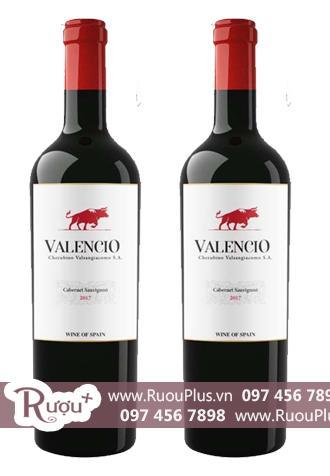 Rượu vang Valencio 13,5% Cabernet Sauvignon Hảo hạng