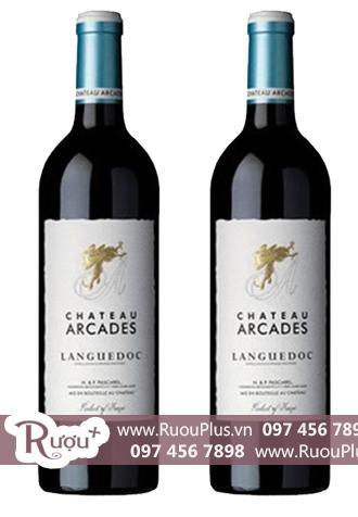 Rượu vang Chateaux Arcades Languedoc Cao cấp