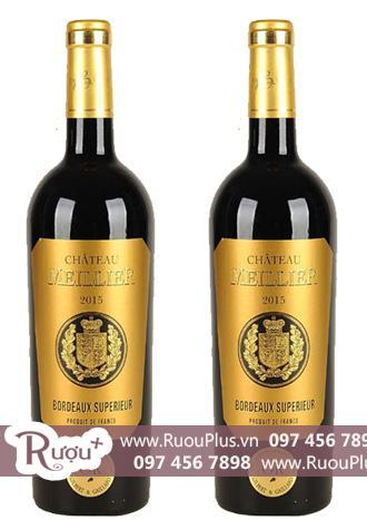 Rượu vang Chateaux Meillier Bordeaux Superieur Cao cấp