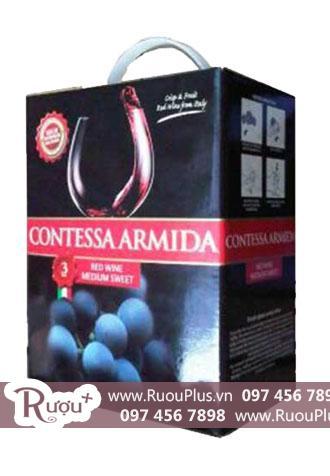 Rượu vang bịch ngọt Contessa Armida 3L Cao cấp