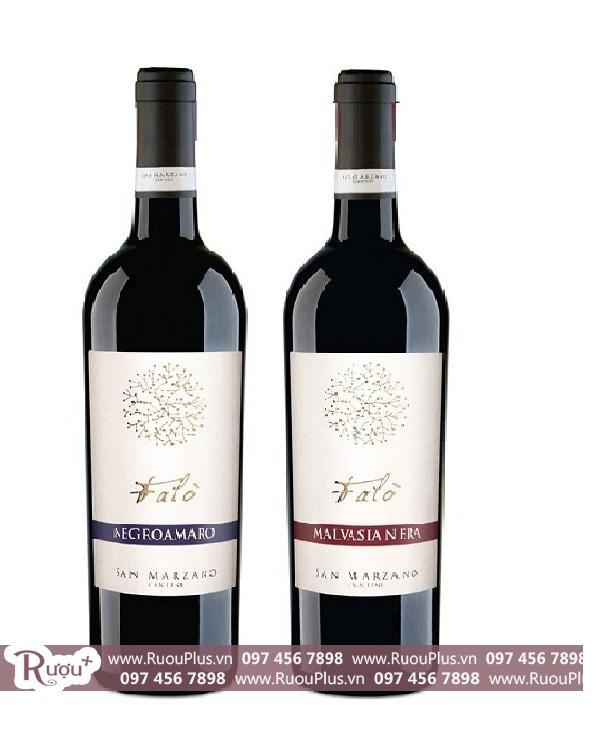 Rượu Vang Ý Falo Salice Salentino