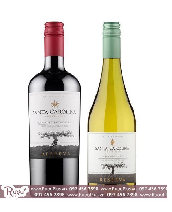 Rượu vang Santa Carolina Reserva Chile