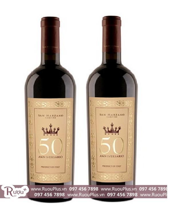 Rượu vang Ý 50 Anniversario Cantine San Marzano