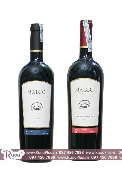 Rượu vang Chile Malco