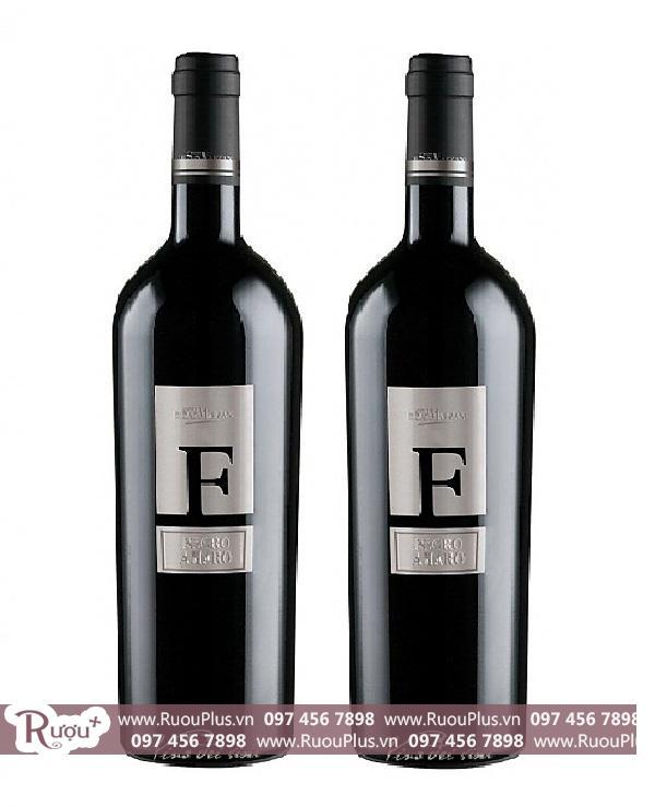 Rượu vang Ý F Negroamaro Salentino - Vang chữ F Cao cấp