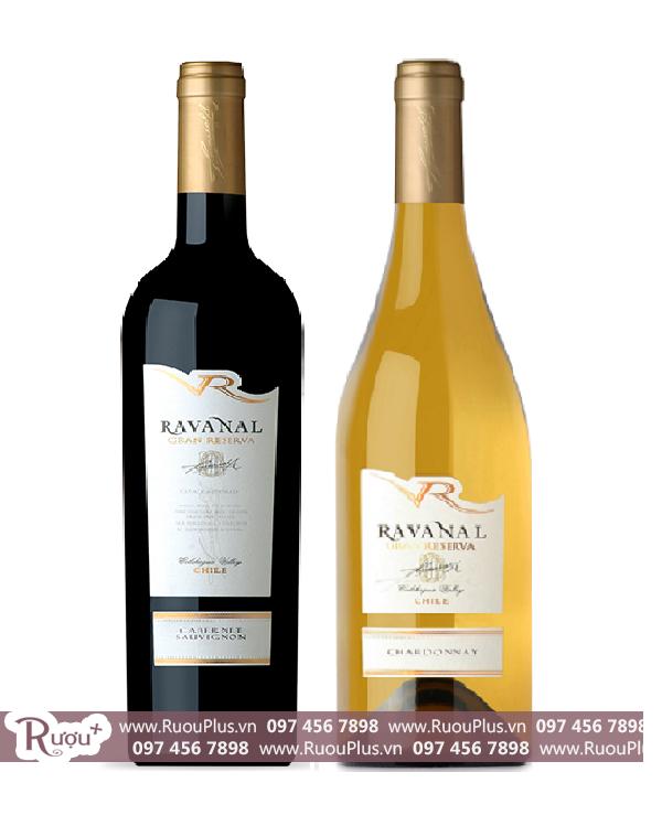 Rượu vang Chile Ravanal Grand Reserva
