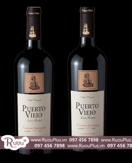 Rượu vang Chile Mác Gỗ Puerto Viejo Reserve