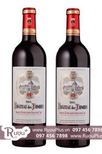 Rượu vang Chateau Des Combes Saint Emilion Grand Cru Cao cấp