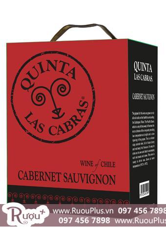 Rượu Vang Bịch Chile Quinta Las Cabras 3 lít