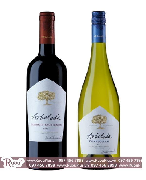 Rượu vang Chile Arboleda cabernet saugvinon