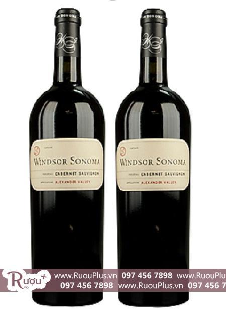 Rượu vang Windsor Sonoma Alexander Valley Cabernet Sauvignon