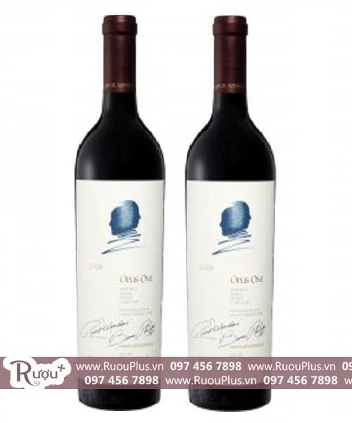 Rượu vang Mỹ Opus One giá bán rẻ nhất