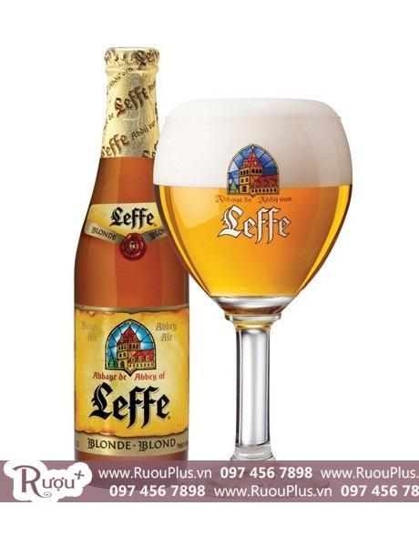 Bia Leffe Blonde 330ml - Bia leffe vàng