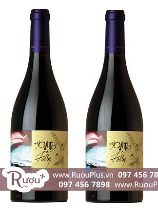 Rượu vang Montes Folly 1500ml hộp gỗ 1 chai