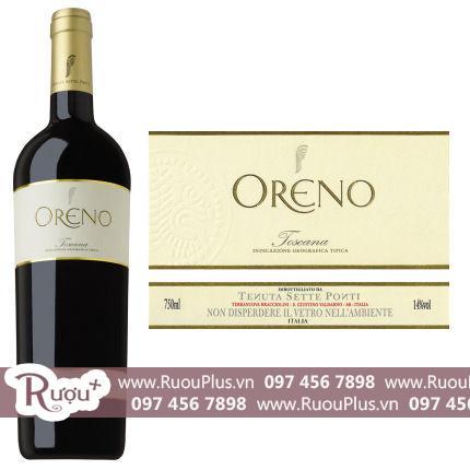 Rượu Vang Ý Oreno Tenuta Sette Ponti