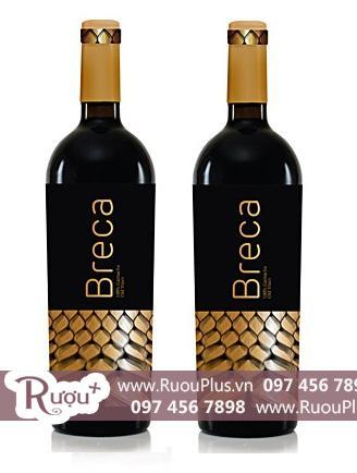 Rượu vang Tây Ban Nha Breca Garnacha