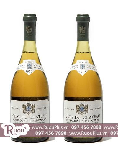 Rượu vang Pháp Chateau De Meursault Bourgogne Chardonnay