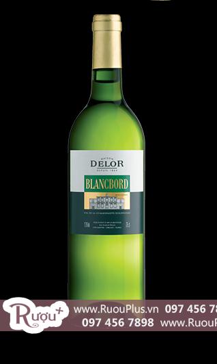 Rượu vang Pháp Delor Blancbord Blend