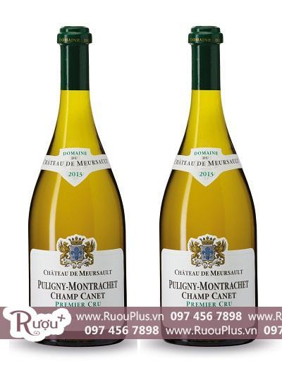 Rượu vang Pháp Chateau De Meursault Puligny - Montrachet Champ Canet