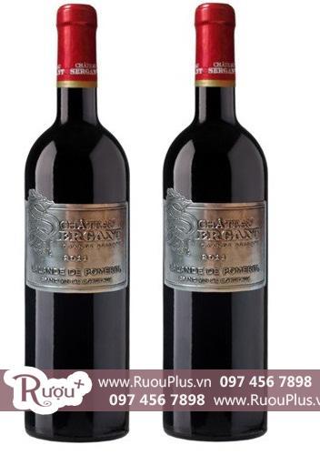 Rượu vang Pháp Chateau Sergant Lalande de Pomerol