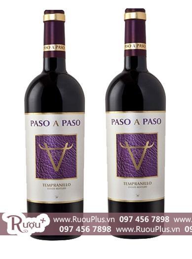 Rượu vang Tây Ban Nha Paso A Paso Tempranillo