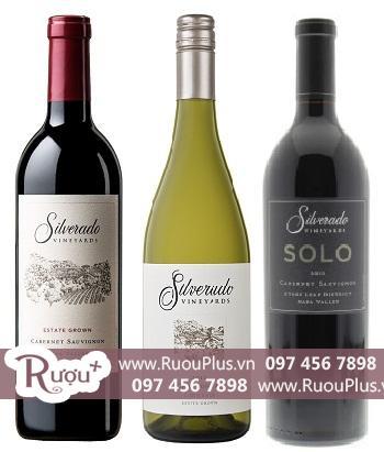 Rượu vang Mỹ Silverado giá rẻ
