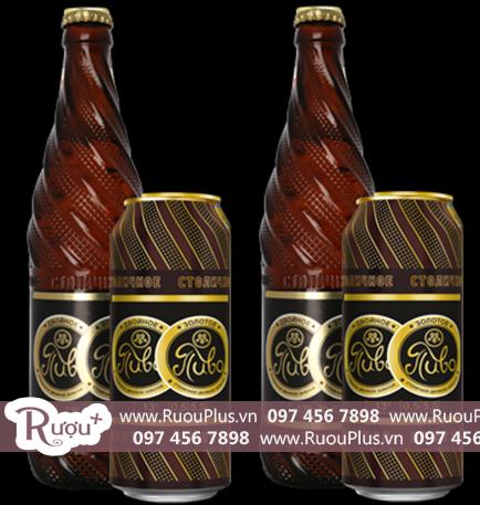 Bia Double Gold bia Nga bán rẻ nhất