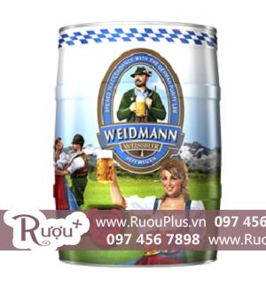 Bia bom Weidmann 5 Lít