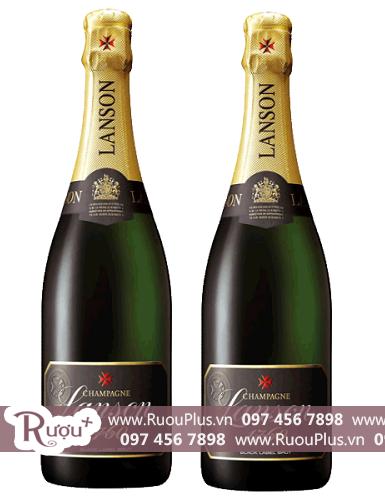 Rượu Champagne Pháp Lanson Black Label giá rẻ