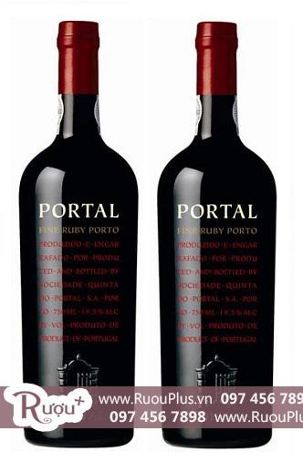 Rượu vang Bồ Đào Nha Portal Fine Ruby Porto