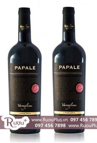 Rượu vang Ý Papale Primitivo giá rẻ