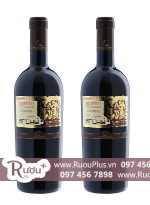 Rượu vang Ý Primitivo di Manduria Le vigne di Sammarco Arche