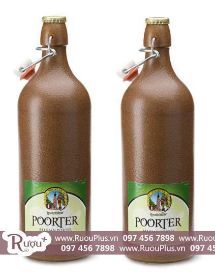 Bia Sứ Bỉ Poorter Belgian Porter Hoogstraten