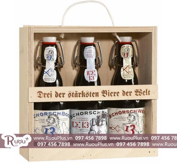 Bia Schorsch Weizen Đức chai sứ 13 độ giá bán rẻ nhất