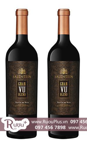 Rượu vang Argentina Salentein Gran VU Blend