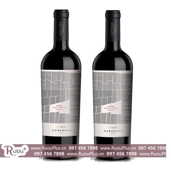 Rượu vang Casarena Single Vineyard