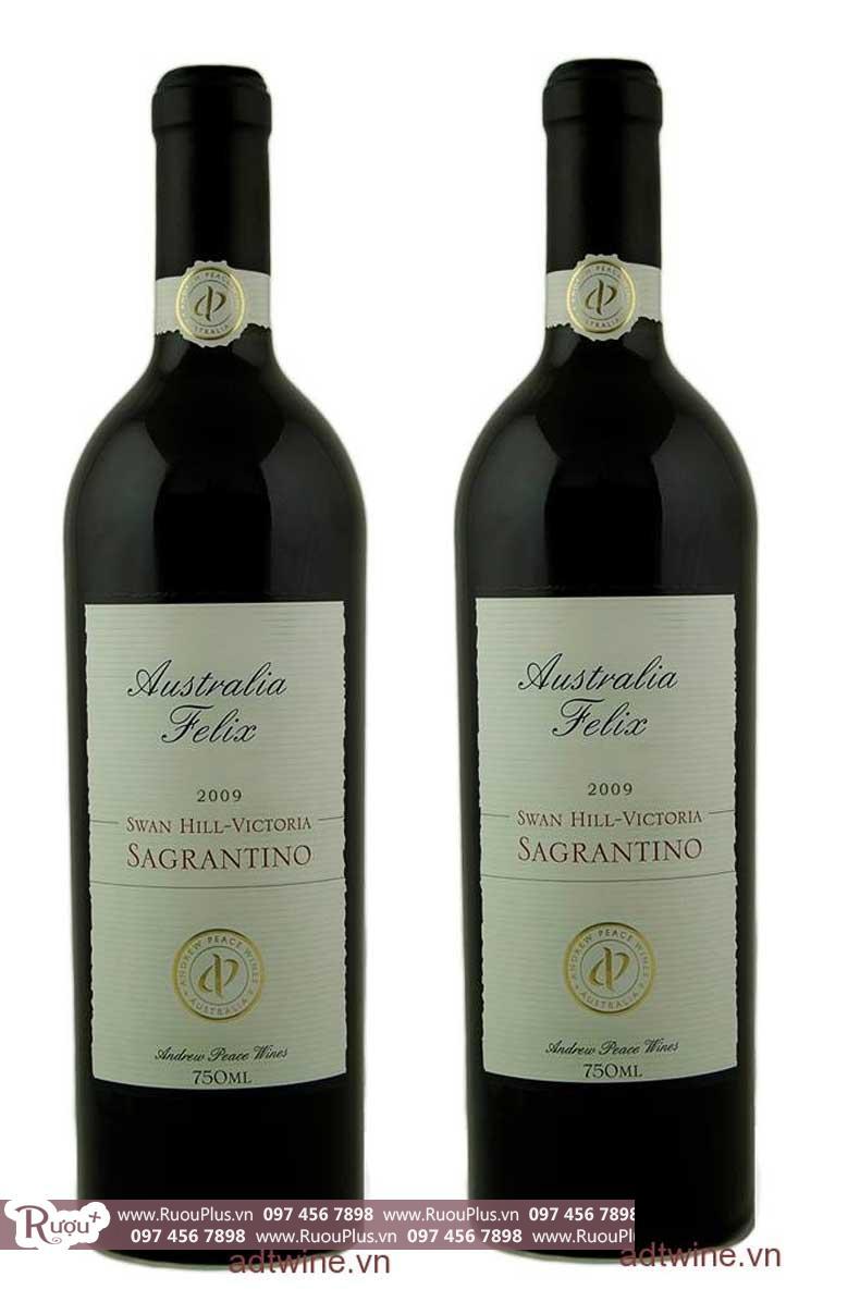 Rượu vang Australia Felix Sagrantino giá rẻ đang sale