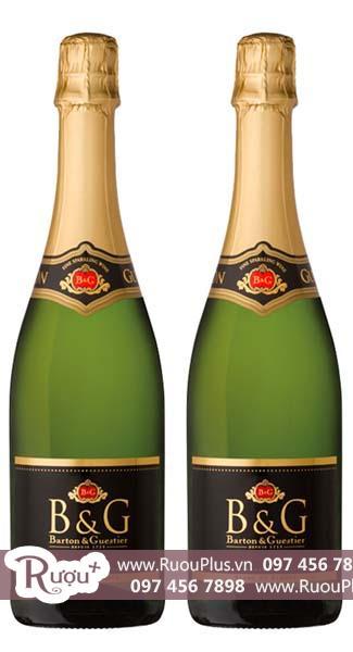 Rượu vang Sparkling B&G Sparkling Square Label