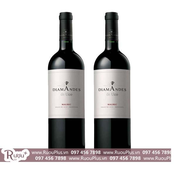 Rượu vang Argentina DiamAndes de Uco Malbec
