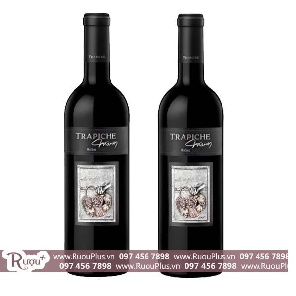 Rượu vang Argentina Trapiche Manos