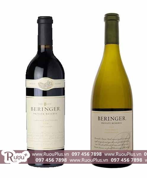 Rượu vang Mỹ Beringer Private Reserve