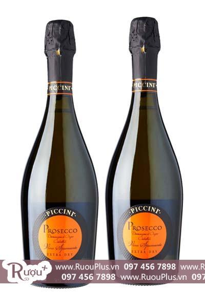 Rượu vang Sparkling Piccini Prosecco