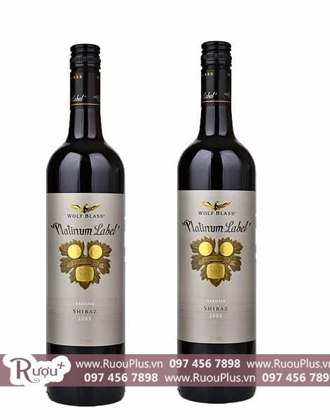 Rượu vang úc Wolf Blass Platinum