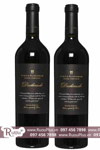 Rượu vang Argentina Finca Flichman Dedicado