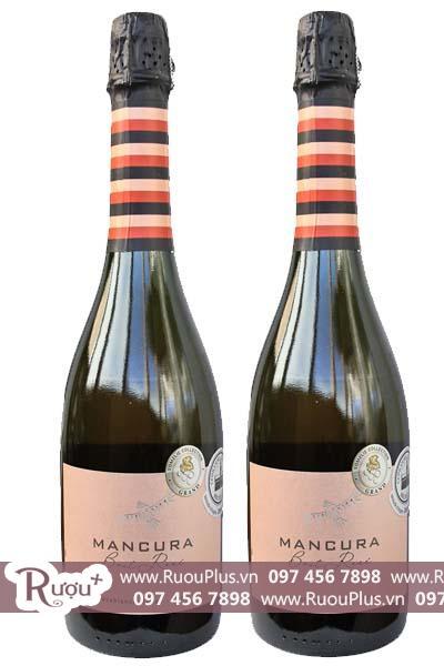 Rượu vang nổ Mancura Rose Brut